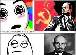 Enlace a Lenin desde varios puntos de vista