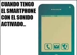 Enlace a La posibilidad de recibir mensajes en tu móvil sólo depende del sonido activado o no
