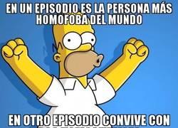 Enlace a Homer, tío, en serio, aclárate