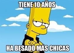 Enlace a ¿Bart Simpson un ligón? Ahá, cuéntame más...