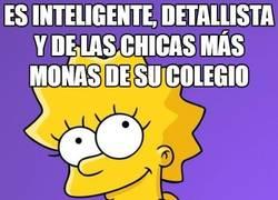 Enlace a Pobre Lisa Simpson y su nula facilidad social