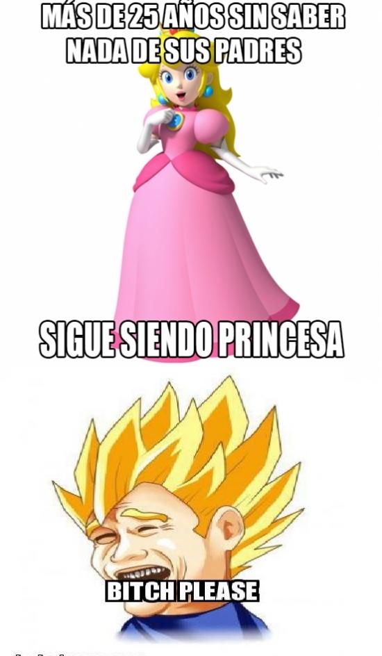 Meme_otros - Vegeta, el príncipe eterno