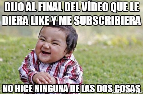 Nino_malvado - ¡No voy a hacer lo que me diga ningún youtuber!