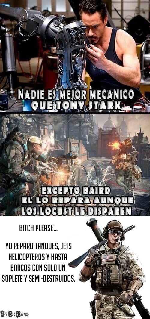 Meme_otros - Nadie supera a los ingenieros de Battlefield