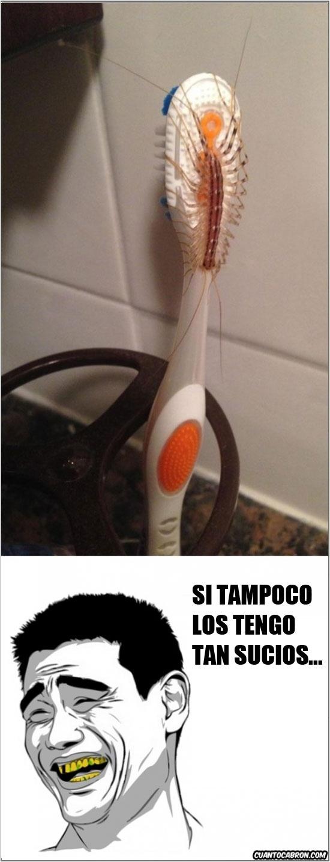 Yao - Nunca sabes lo que puede haberse paseado por tu cepillo de dientes cuando no estás
