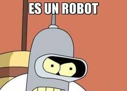 Enlace a Bender, el humano