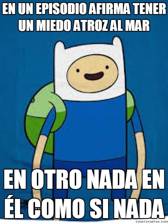 Meme_otros - Finn y sus volubles ''miedos''