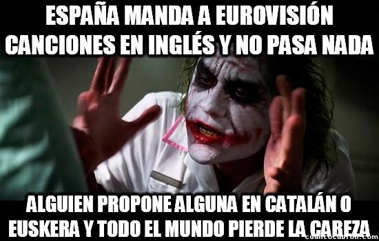 Joker - ¿El inglés es lengua co-oficial en España?