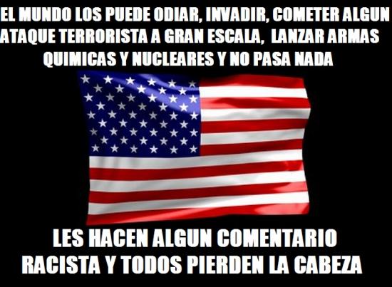 Meme_otros - La lógica de los Norteamericanos