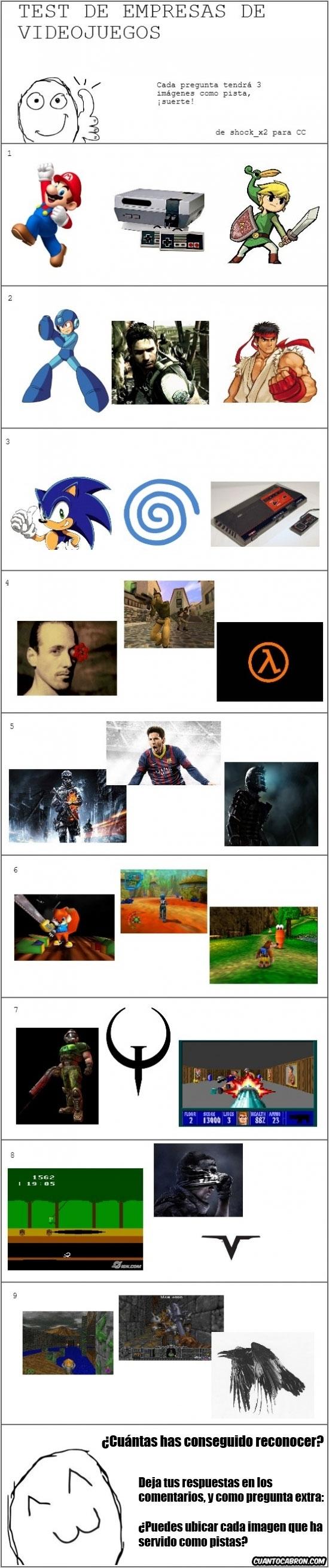 Mix - Test de compañías de videojuegos, ¿eres capaz de reconocerlas todas?
