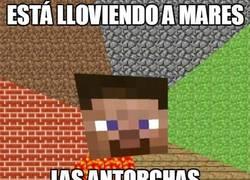 Enlace a Las antorchas inapagables de Minecraft