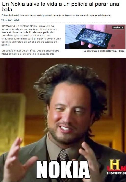 Ancient_aliens - ¿Chaleco anti-balas? Mejor cómprate un Nokia