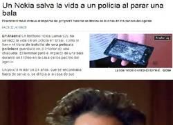 Enlace a ¿Chaleco anti-balas? Mejor cómprate un Nokia