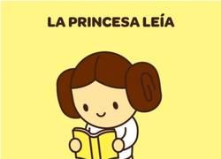 Enlace a Seguro que nunca habías visto a la Princesa Leia de esta manera