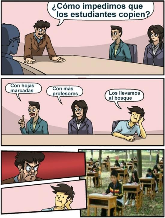 Otros - No te imaginas lo que un profesor chino ha ideado para que sus alumnos no copien. TRUE STORY!