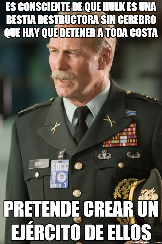 Meme_otros - La lógica del general Ross