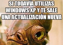 Enlace a ¿Una actualización en Windows XP?