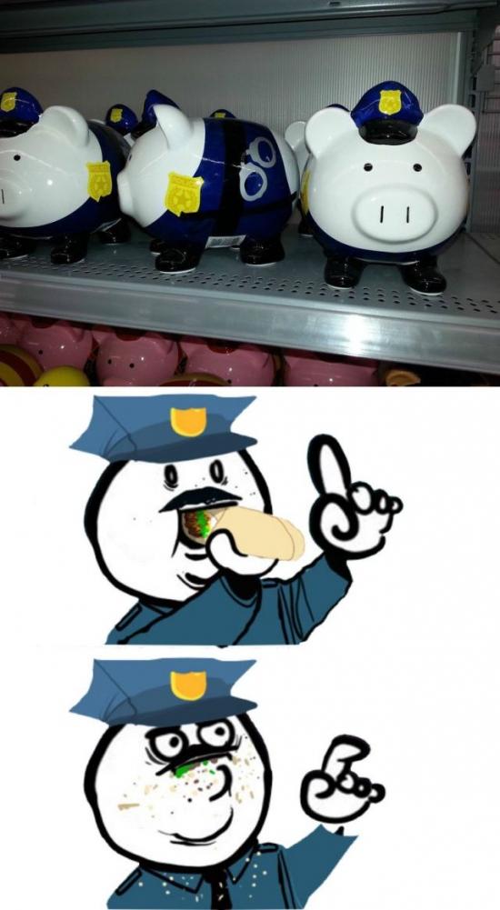 Otros - Creo que aquí hay una indirecta bastante bien tirada a la policía...
