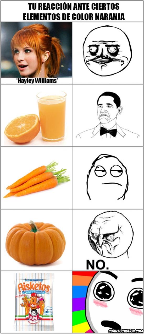 Amazed - No todo lo naranja es malo, algunas cosas son muy muy buenas