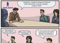 Enlace a ¡Siempre con la misma historia en Pokémon!