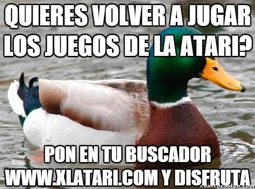 Atari,Pato Consejero,videojuegos,Xlatari