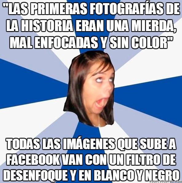Amiga_facebook_molesta - Alguien debería hacerla callar de una vez