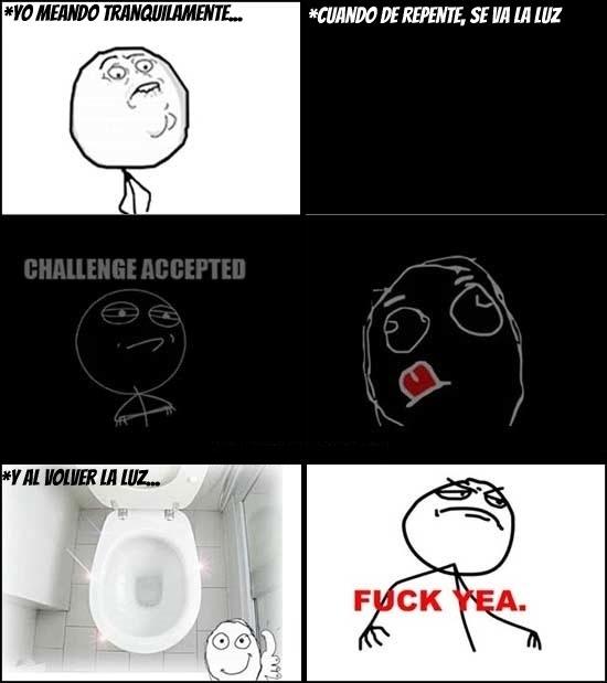Fuck_yea - Uno de los retos más difíciles cuando vas al baño