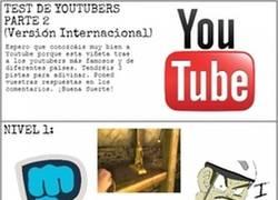 Enlace a Test de Youtubers internacional, ¿los conoces a todos?