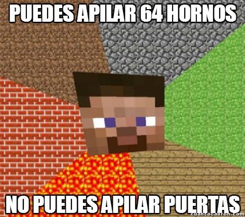 Minecraft - Las extrañas características de las puertas