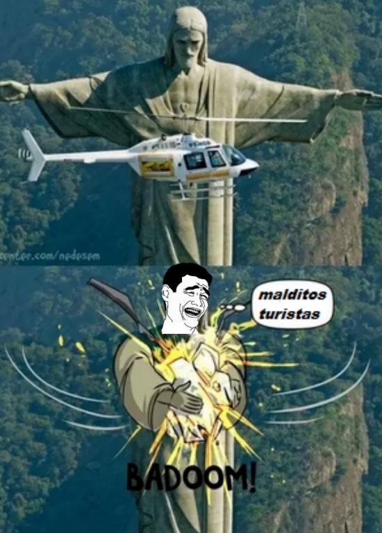 Yao - Se os van a pasar las ganas de ir a hacer turismo a Brasil...