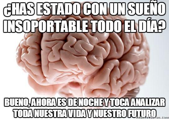 Cerebro_troll - Mi cerebro sólo quiere trabajar cuando yo quiero dormir