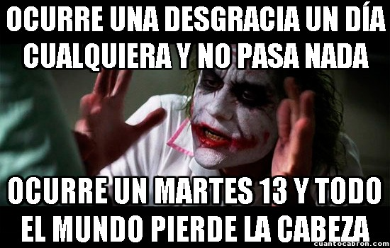 Joker - Martes 13, el día de la mala suerte
