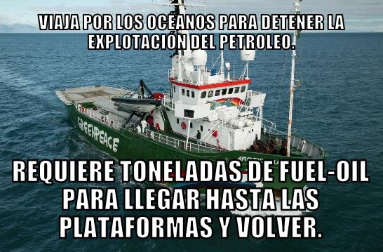 Meme_otros - Simplemente, Greenpeace...