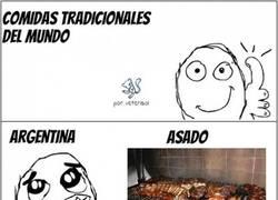 Enlace a La comida típica de algunos países