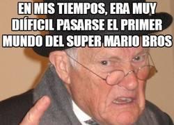 Enlace a La evolución de la dificultad en los Super Mario
