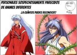 Enlace a En el mundo del anime, hay plagiadores muy descarados o los personajes se pluriemplean