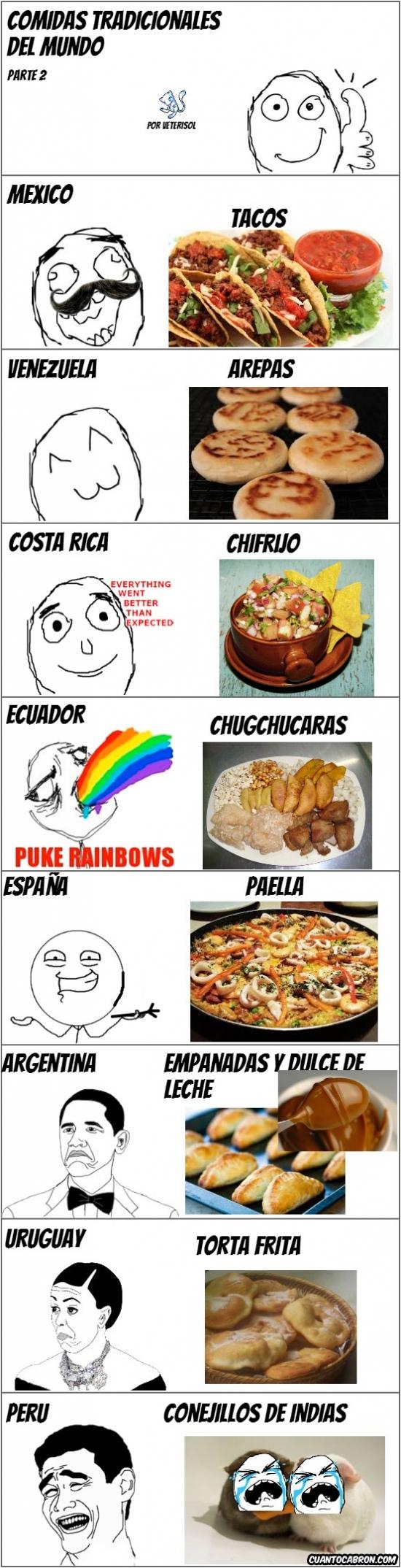 Mix - Alimentos del mundo, versión latina