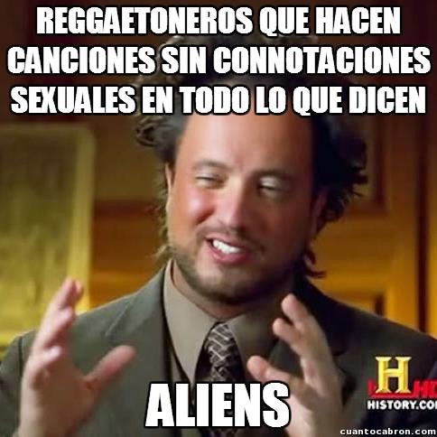 Ancient_aliens - Aunque no creo que los aliens fuesen tan tontos de disfrazarse de algo así
