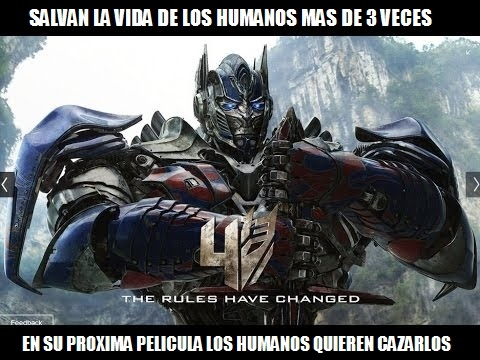 Meme_otros - Mientras tanto, en la próxima peli de los Transformers...