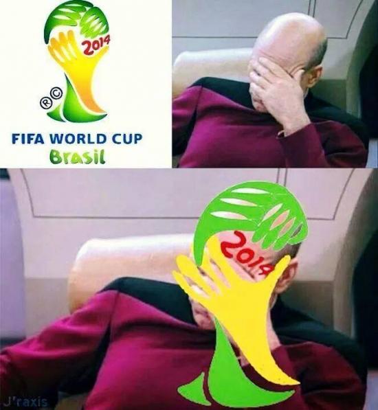 Otros - El sectreto del logo del Mundial de Fútbol 2014