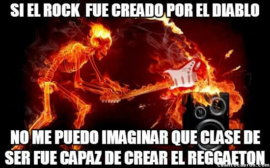 Meme_otros - La creación del rock y el reggaeton tienen algo en común
