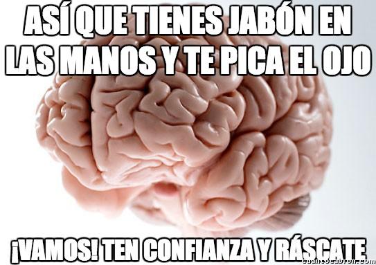 Cerebro_troll - Típico del Jabon