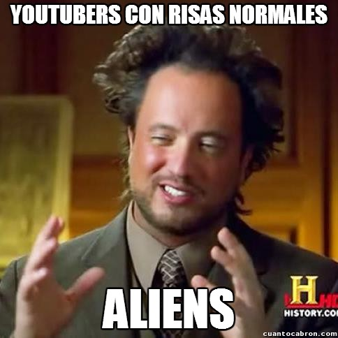 aliens,normal,risas,youtube,youtubers