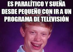 Enlace a ¡Bad Luck Brian ha sido contratado en la tele!