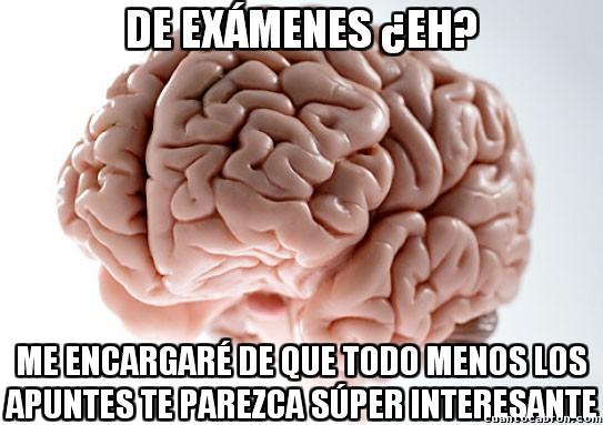 Cerebro_troll - Ganas de estudiar, cero y descendiendo...