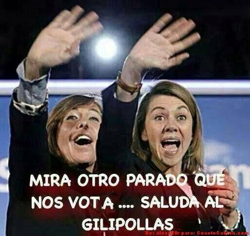 Meme_otros - Mientras tanto, en un mítin del PP...