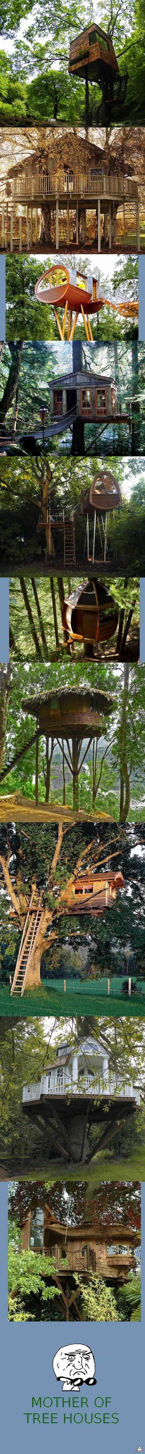Mother_of_god - Todos soñamos con una casa en el árbol cuando éramos niños...