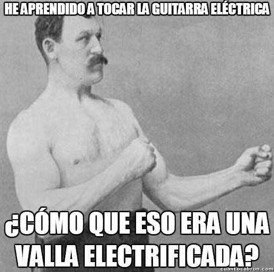 Overly_manly_man - Hacer rugir la valla eléctrica