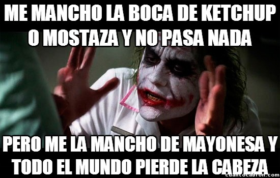 Joker - Hombre, es que el efecto no es exactamente el mismo