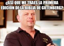Enlace a ¿Me traes la primera Biblia de Gutenberg?